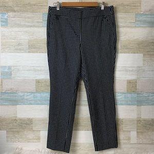 Loft Checkered Skinny Pants Size 10 Petite